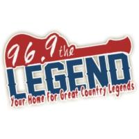 Logo of radio station WDJR 96.9 The Legend