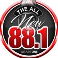 Logo of radio station KCEP POWER 88.1 FM