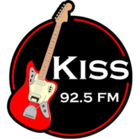 Logo of radio station Kiss FM 92.5 FM