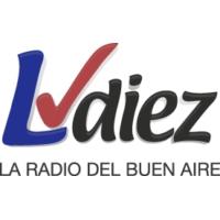 Logo of radio station LV Diez