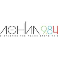 Logo of radio station ATHENS 9,84 - Αθήνα9.84