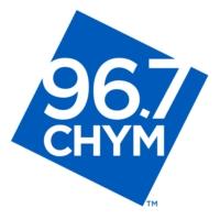 Logo of radio station CHYM 96.7