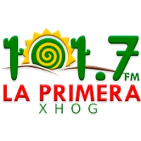 Logo of radio station XHOG La Primera 101.7 FM