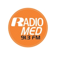 Logo of radio station RadioMED 91.3