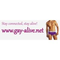Logo of radio station Gay-Alive-Radio
