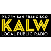 Logo of radio station KALW 91.7 FM