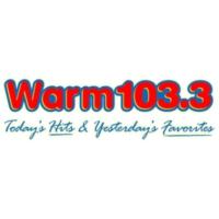 Logo of radio station WARM 103.3