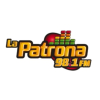 Logo of radio station XHLH La Patrona 98.1 FM
