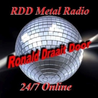 Logo of radio station RDD Metal Radio