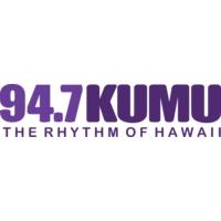 Logo of radio station 94.7 KUMU