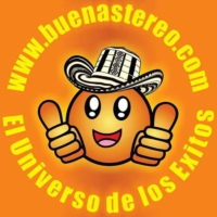 Logo of radio station BuenaStereo
