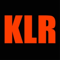 Logo of radio station KLR Radio