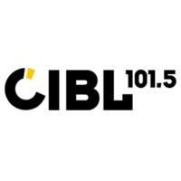 Logo de la radio CIBL 101.5 FM