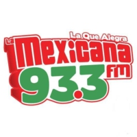 Logo of radio station La Mexicana 93.3 FM