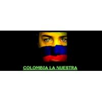 Logo of radio station colombia la nuestra