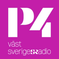 Logo of radio station P4 Väst