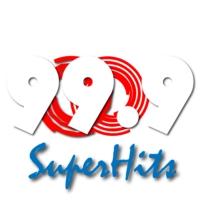 Logo of radio station 99.9 SuperHits