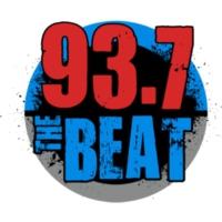 Logo of radio station KQBT 93.7 The Beat