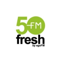 Logo of radio station 50fresh - by egoFM