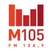 Logo of radio station CFXM-FM M105