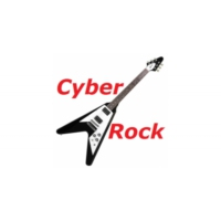 Logo of radio station Cyber Rock