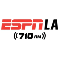 Logo of radio station KSPN-AM ESPN LA 710