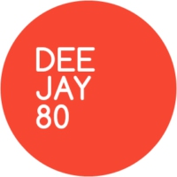 Logo of radio station DEEJAY 80