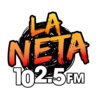 Logo of radio station XHJA-FM La Neta 102.5