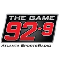 Logo of radio station WZGC 92-9 The Game