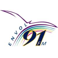 Logo de la radio CKXL-FM Envol 91.1FM