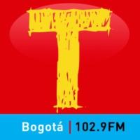 Logo de la radio Tropicana Bogotá 102.9