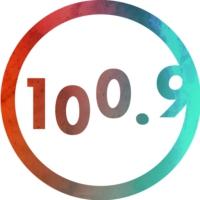 Logo de la radio CHXX-FM La VIBE 100.9 FM