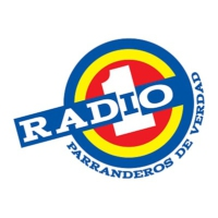 Logo of radio station Radio 1 Medellin