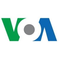 Logo de la radio Voice of America - News Now
