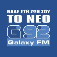Logo of radio station Galaxy 92 FM