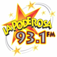 Logo of radio station XHCRA  La Poderosa 93.1