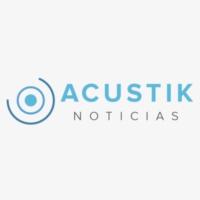 Logo of radio station XEJP Acustik Radio
