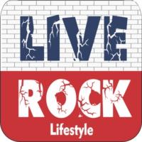 Logo of radio station Live Rock br