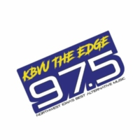Logo of radio station KBVU The Edge 97.5