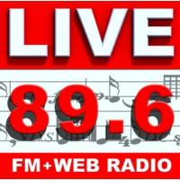 Logo de la radio LIVE FM 89.6