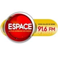 Logo of radio station Espace 91.6