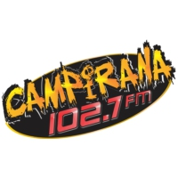Logo of radio station XHIRG Campirana 102.7 FM