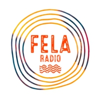 Logo of radio station Fela Radio