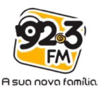 Logo of radio station Rádio 92.3 FM