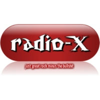 Logo of radio station RadioX
