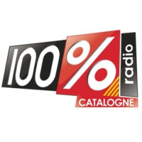 Logo of radio station 100% Catalogne