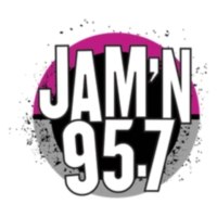 Logo of radio station KSSX-FM JAM'N 95.7