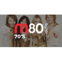 Logo of radio station M80 Rádio - 70's