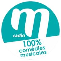 Logo de la radio M Radio - 100% Comédies Musicales