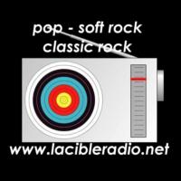 Logo of radio station La Cible